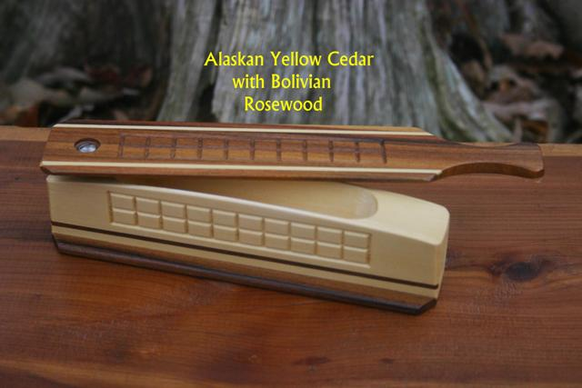 Alaskan Yellow Cedar and Rosewood