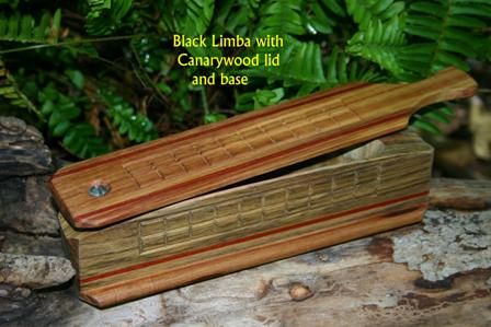 Black Limba with Canarywood