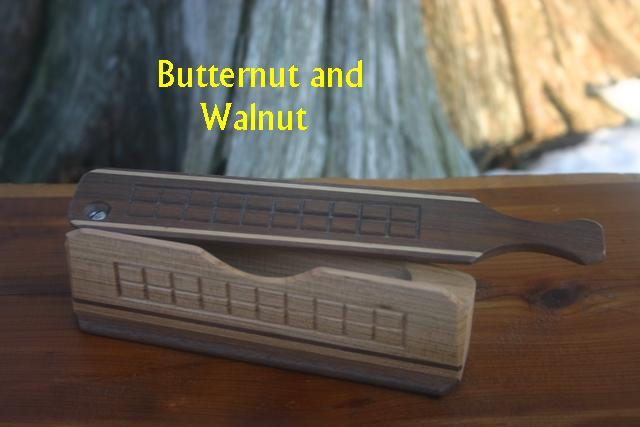 Butternut and Walnut